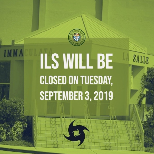 ILS closed on Sept. 3rd