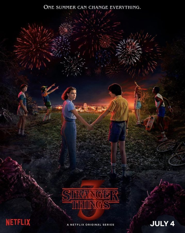 Stranger Things 3 promotional poster from Netflix.com.