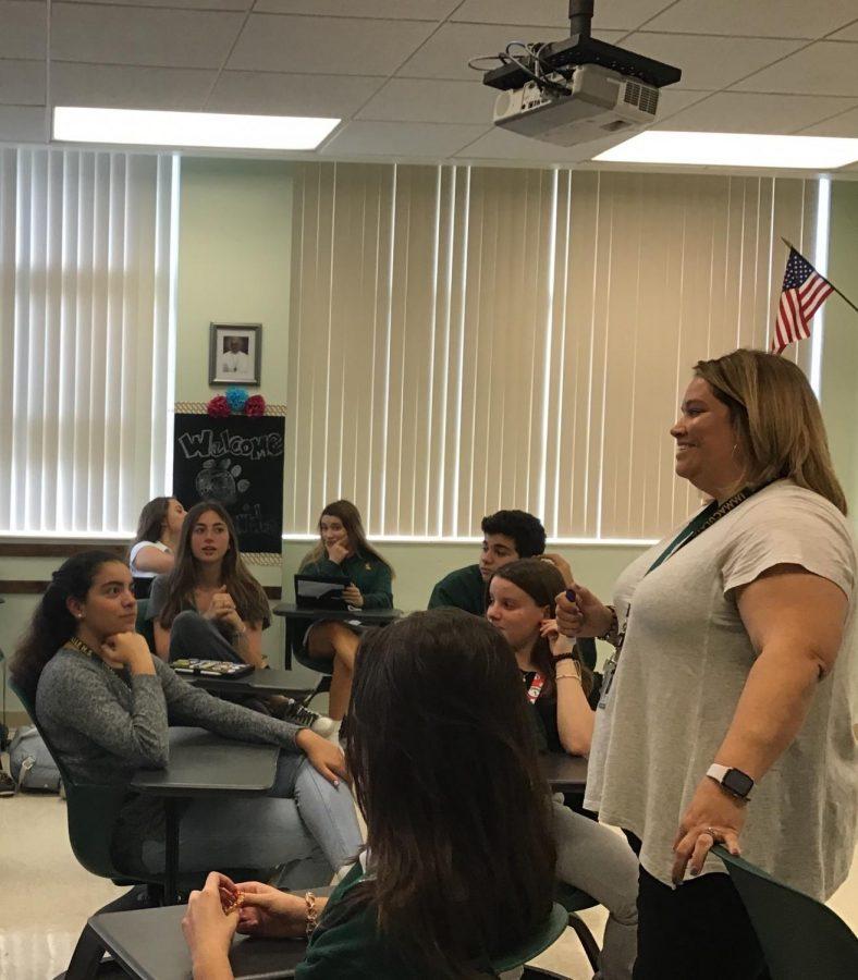 English+Department+gains+alumni+teacher+in+Mrs.+De+Arce