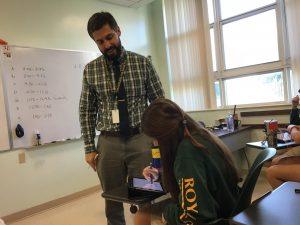 ILS Welcomes Mr. Cruz, New Math Teacher.
