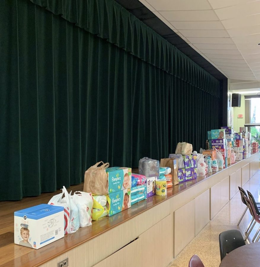 The ILS community showed it's generosity once again, this time donating diapers for families in need.