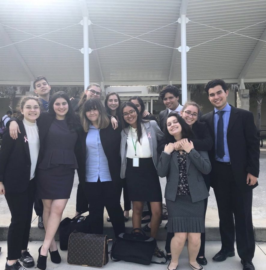 The+ILS+Debate+team+competed+at+the+first+South+Florida+Catholic+League+Tournament+of+2019-2020+at+West+Broward+High.