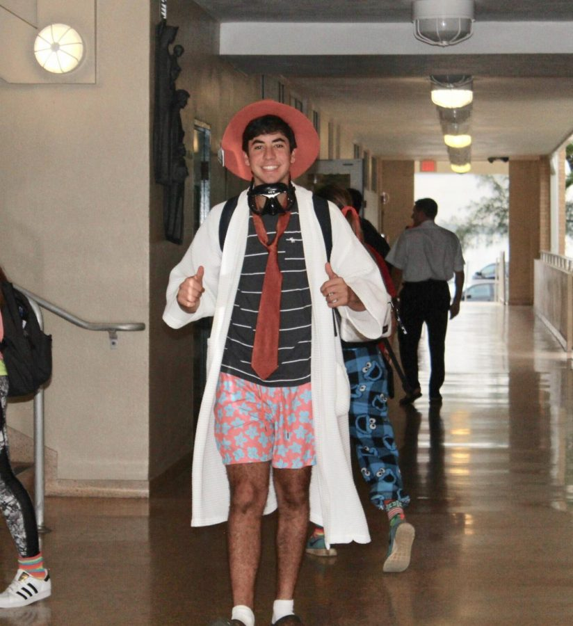 A tacky Homecoming outfit from 2015.