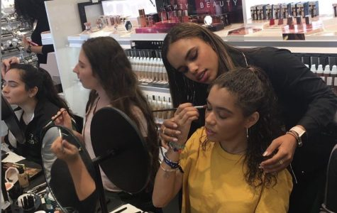 The Lionettes went to Sephora recently for team building and a makeup tutorial.