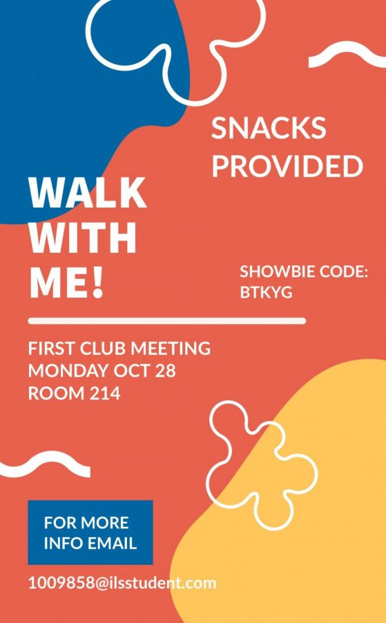 Walk With Me! holds its first meeting ever. Via Camila Mendoza