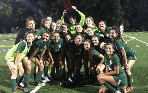 Last year, the ILS girls varsity soccer team won the district championship.