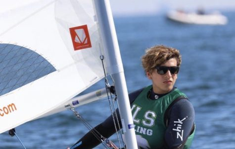 ILS senior Antonio Miranda placed 14th in the sailing national championships over the weekend.