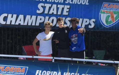 Pedro Beron, Pablo Lopez, and Yohance Forde at States