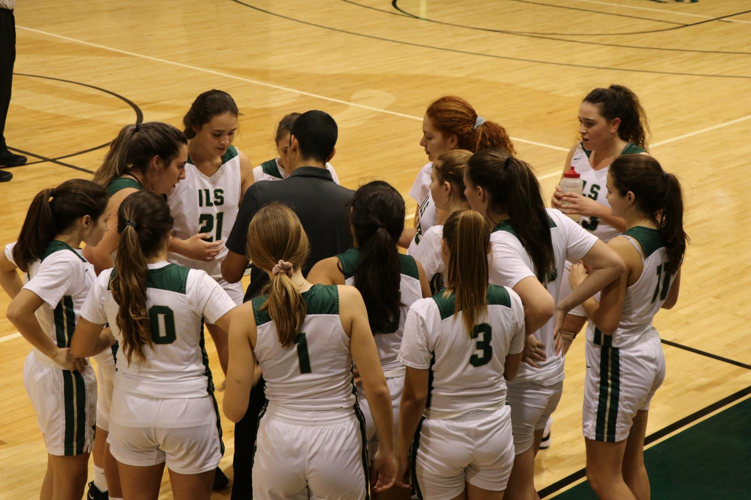 The ILS girls basketball team showed a great deal of fight in their comeback against North Broward Prep.
