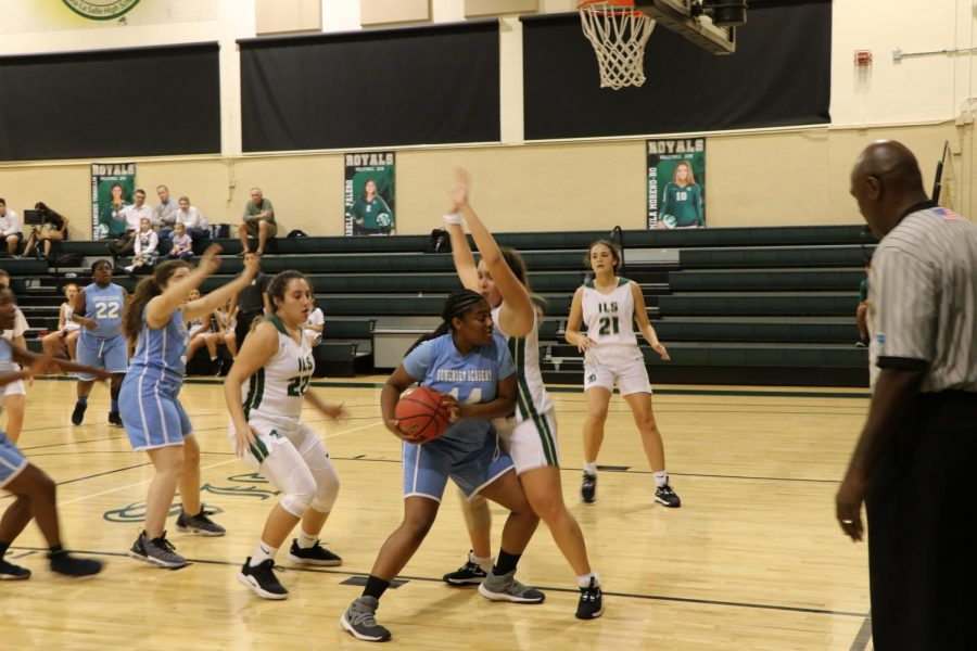 The ILS girls basketball team opened their season with a win over Somerset Academy.
