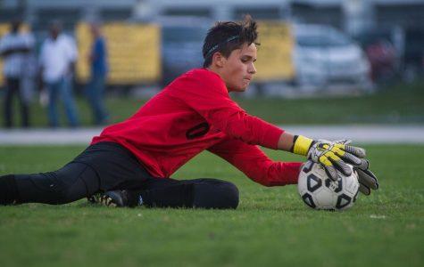 Sophomore Manuel Lopez registered a shut out last week vs MAST.