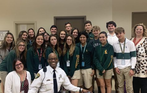 Law Club took a field trip to the Richard E. Gerstein Justice Building to learn more about the criminal justice system. Students were able to sit in on real court cases, speak to judges and ask questions, and even learned about the daily life of correctional officers.