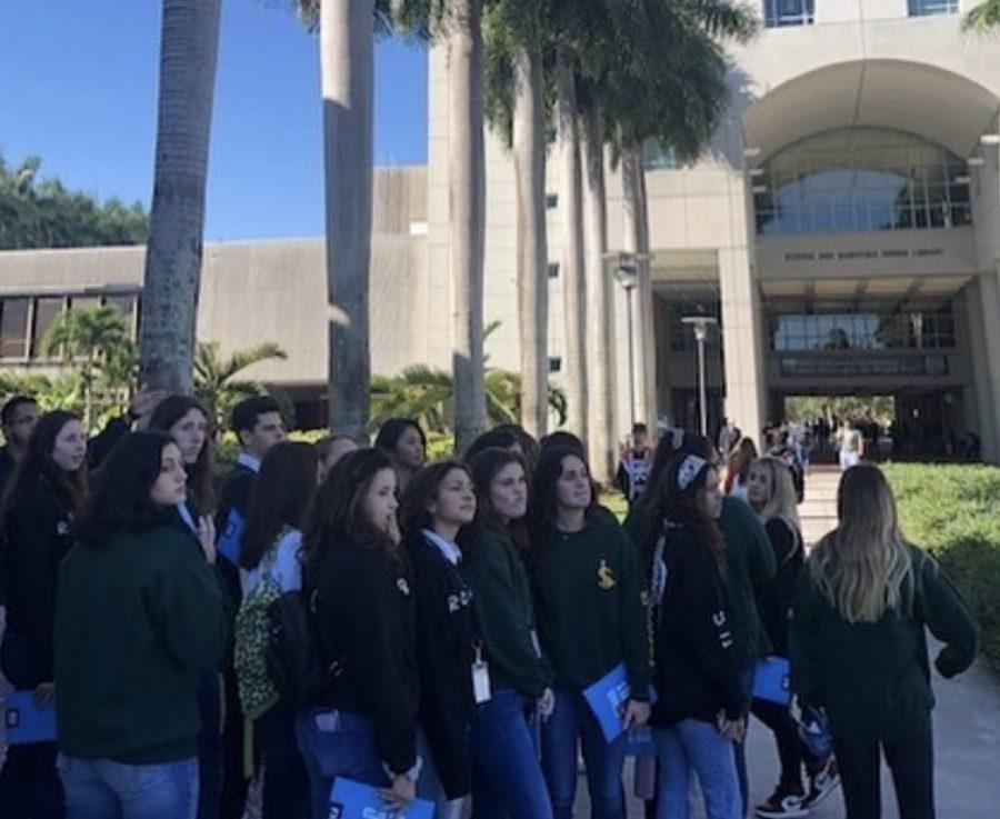 ILS juniors toured FIU on Tuesday.
