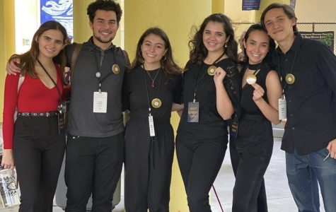 The ILS Thespians performed at the District 8 competition held at Miami Art Studio last weekend.