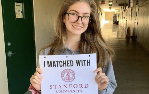 Gabriela Aranguiz-Dias received the Quest Bridge Scholarship. She has been admitted to Stanford with a full 4 year scholarship including tuition, room and board and traveling expenses.