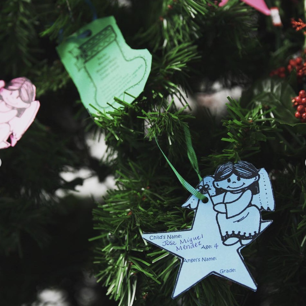 Angel Tree is a long-held ILS tradition of giving and service during the Christmas season.