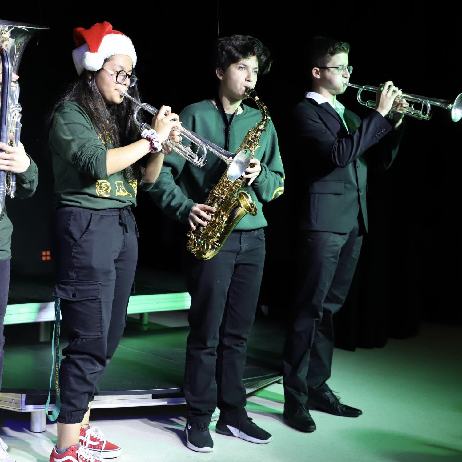 ILS students performed in the Black Box theatre during the Christmas Concert last Thursday.
