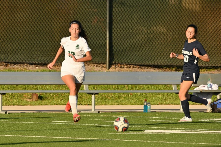 ILS girls varsity soccer team improved to 5-3 with the win over University School.