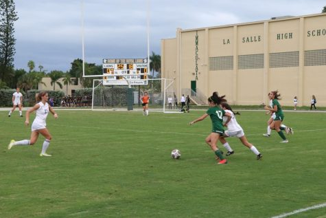 ILS girls varsity soccer defeated Ransom last week, 1-0.