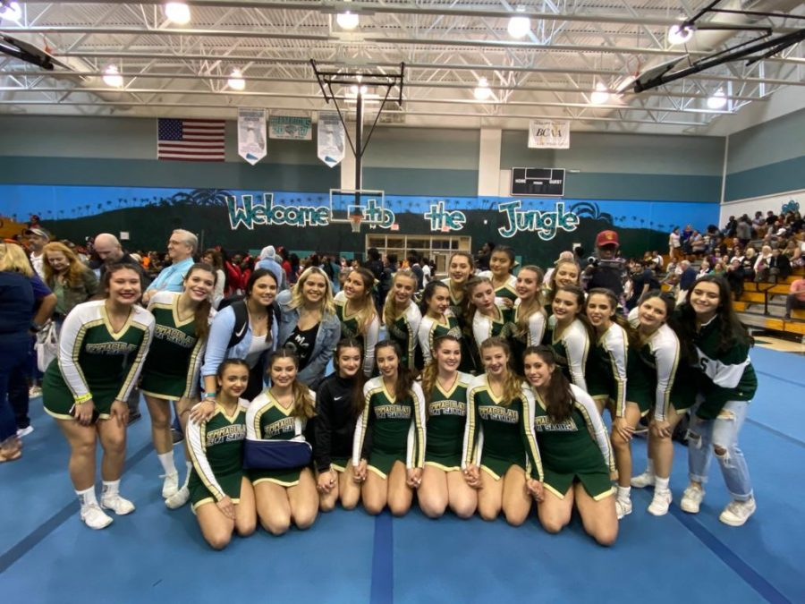 The ILS Competitive Cheerleading team has qualified for the State Championships for the second year in a row.