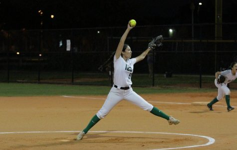 The ILS softball team is preparing for their season. Senior Yasmine Regueira will be one of the pitchers.