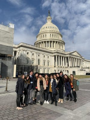 Close Up Trip Gives ILS Students A Hands-On Experience with Government