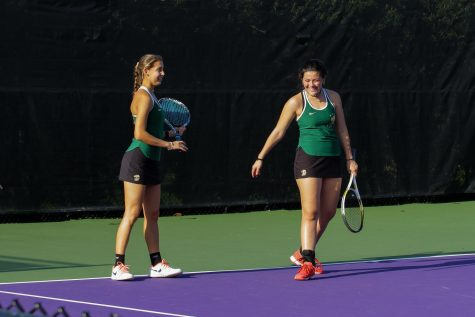 ILS seniors Gabi Caputo (left) and Ariana Perez (right) are preparing for the 2020 season.