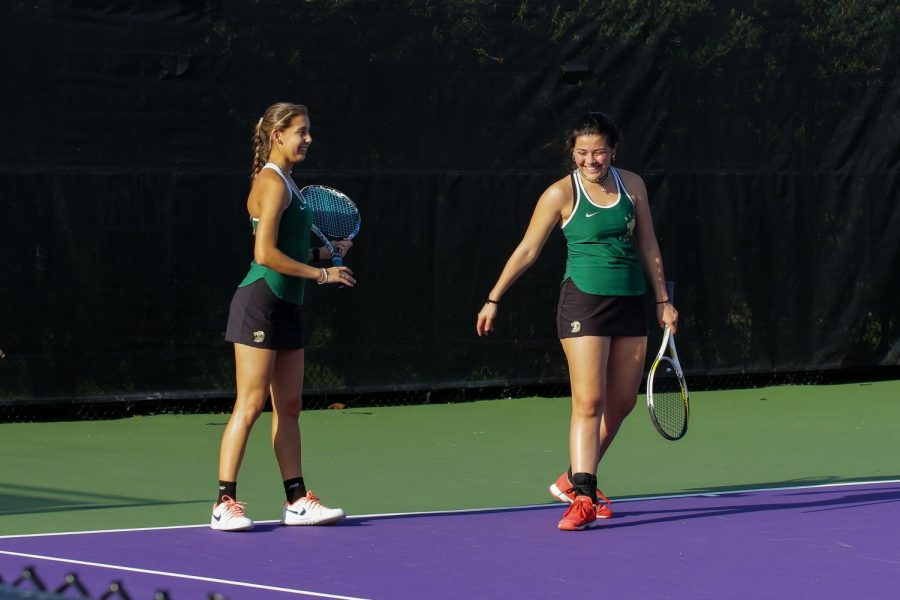 ILS seniors Gabi Caputo (left) and Ariana Perez (right) are preparing for the 2020 season.
