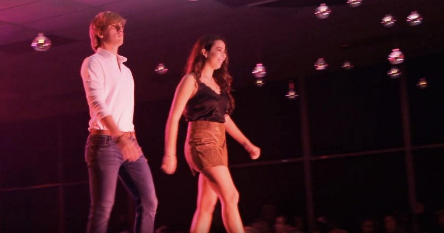 On Thursday night, SALTT hosted the club's first ever fashion show.