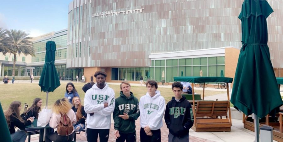 ILS juniors toured state universities last week.