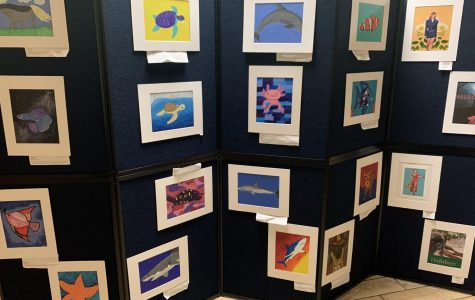 Royal Art Walk displayed the paintings of talented ILS artists.