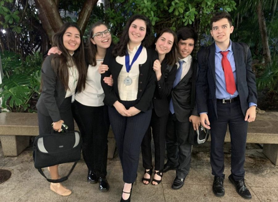 ILS Senior Isabella Perez earned second place at the district debate tournament.