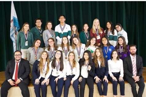 23 ILS students placed top-5 at the HOSA regional awards banquet.