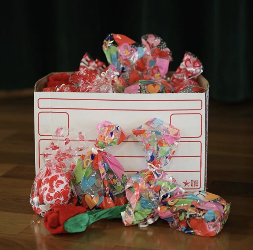Valentine Grams sold last year in February 2019.