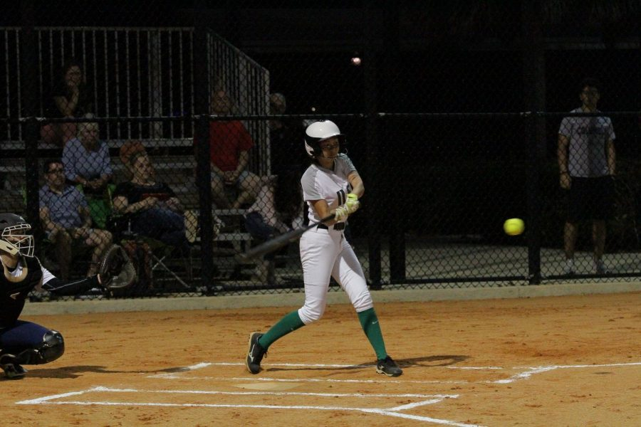 The ILS softball team picked up their first win of the season with a 18-15 victory over Pace.