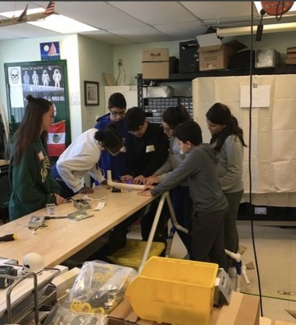 On Saturday, the ILS Steam program hosted local seventh grades for an engineering event.