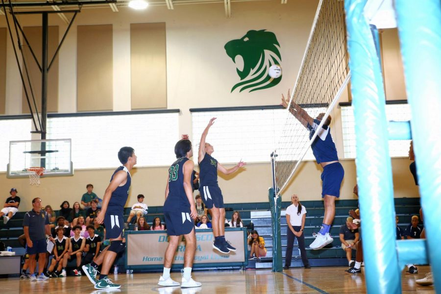 The ILS Boys Volleyball team picked up the win in their last game.