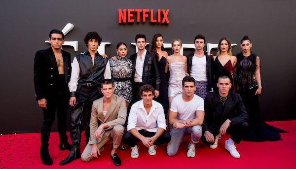 The cast of Élite via ibtimes.com