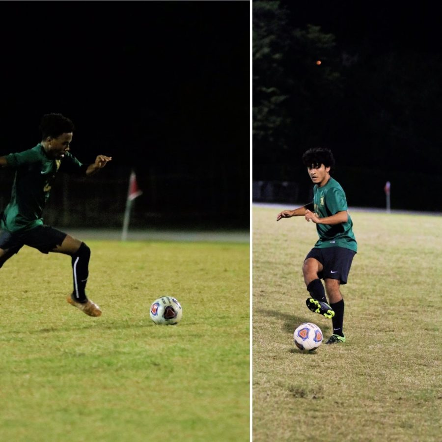 Seniors Kamani Turner and Miguel Valle earned All-Dade distinctions for their play this season.