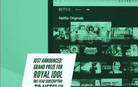 The Royal Idol winner this year will receive a year-long subscription to Netflix!