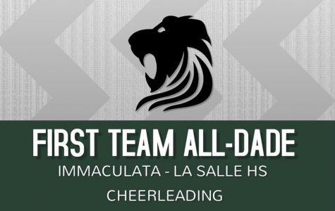 Six ILS varsity cheerleaders earned All-Dade honors this year!