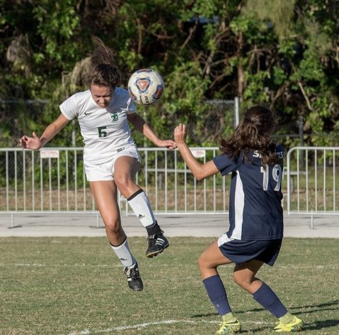Senior Sofia Concepcion was a four-year starter on the ILS girls soccer team.