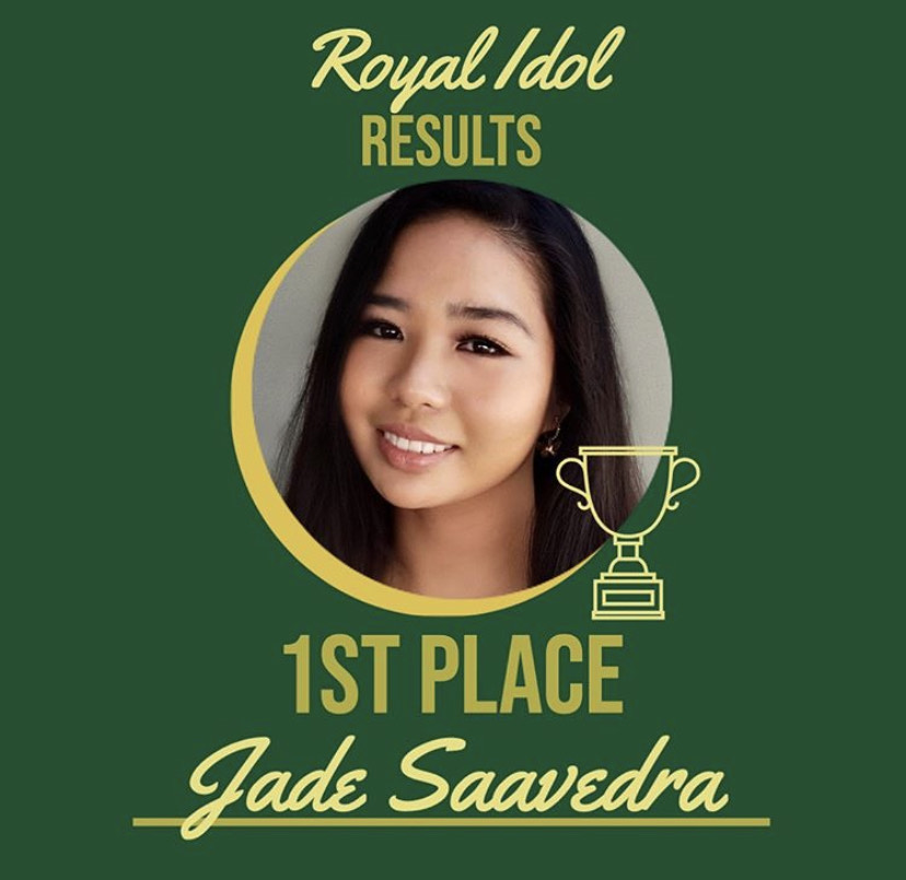 Junior singer Jade Saavedra wins Royal Idol 2020!