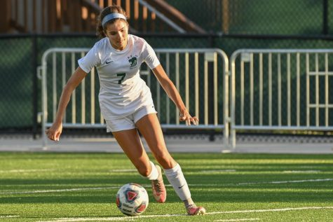 Senior Anabel Toledo was a four-year starter as a member of the girls soccer team.