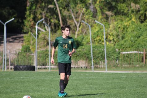 Senior Marcello Aedo played four different sports during his time at ILS.