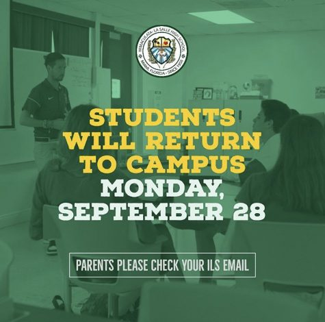 ILS Students To Return To Campus On Sept. 28
