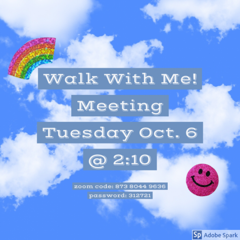 Walk with Me Club Meeting Recap