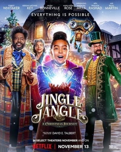 'Jingle Jangle' out now on Netflix! Via Netflix.com