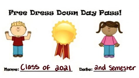 The Newest Senior Privilege: Free Dress Down for the Rest of the Year