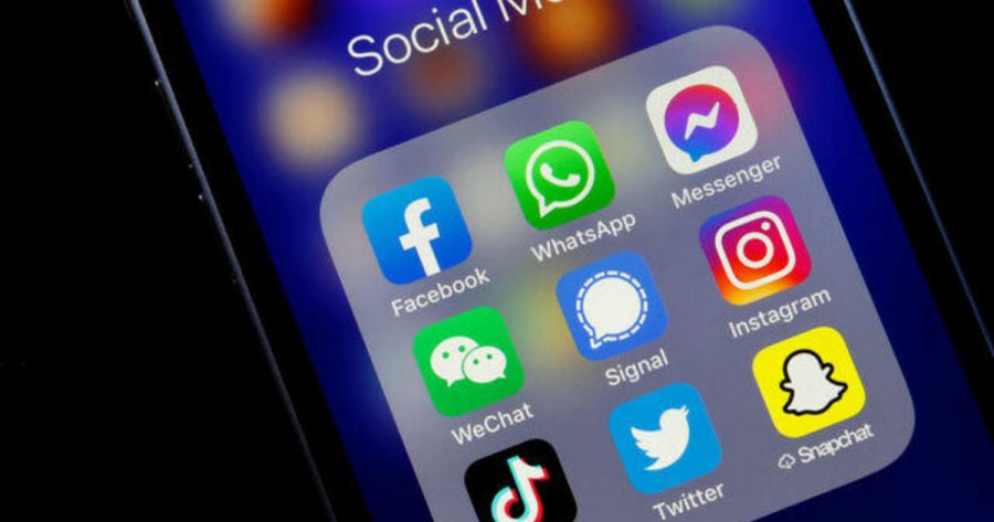 Social+Media+Platforms+Ban+President